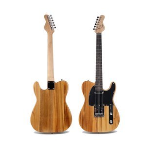 NEW electric guitar Paulownia wood color fully enclosed strings 22 dishes 6 string guitar Musical instrument
