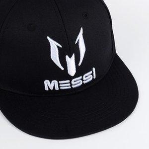 Melhor Shade Tunica Nova Marca Messi Bordado Cartas Boné Boné Chapéu Mulheres Mulheres Hip-Hop Snapback Caps Gorras Bone