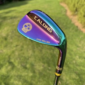 2021 New Golf Wedges CALONG Skull Sand S20C Forged Milled Face With Original Dynamic Gold Steel Shaft Golf Glubs