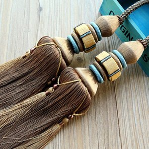 Novelty Items European Style Curtain Bandage Tassel Hanging Ball Accessories Living Room Hook Buckle Strap Rope