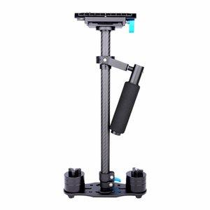 Stabilizers Professional Carbon Fiber DSLR Video Camera Handheld Stabilizer-Black Color