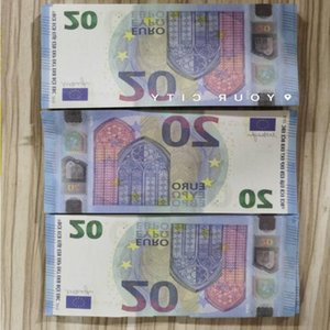 20 Realistic Most Euros Note Paper Money Nightclub Movie Play 28 Prop Business Fake Copy Collection Bank For Kasdo