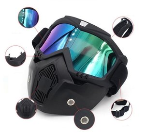 Wholesale-Bike Glasses Motorcycling Goggles Ski Snowboard Snowmobile Goggles Mask Snow Winter Windproof Skiing Glasses Motocross Sunglasses