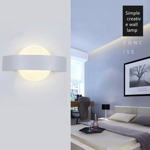 Wholesale Modern Minimalist Creative Hotel Home Outdoor Lamps Bedroom Bedside Entrance Hallway Wall Corridor Lamp LED