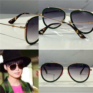 062 gafas de sol para mujeres hombre clásico verano estilo de moda metal y marco de tablones gafas de ojo populares de alta calidad de protección UV Protección de la lente