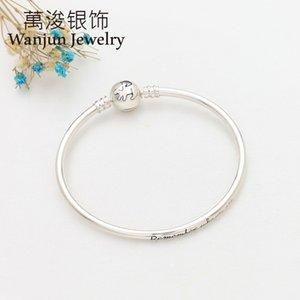 Anomokay nuevo 100% 925 plata esterlina linda linda león brazaletes pulseras para niños moda regalo de cumpleaños joyería de plata lj201020 947 q2