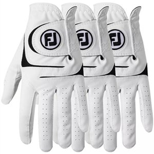 Golf gloves men's leather glove sheepskin non-slip breathable wear resistant practice single right and left hands