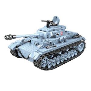 462pcs Soviet BT-7 Light Tank Building Blocks Weapon Accessory Soldier Figures Bricks Toys For Children Gifts