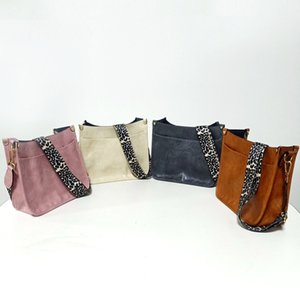 Leopard Handbag PU Leather Solid Color Crossbody Bag Leopards Print Strap Shoulder Retro Bags Fashion Handbags CGY225