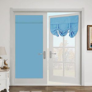 Curtain & Drapes Blackout Curtains For Bedroom Living Room Modern High-Grade Free-Perforated Window Fabric Door Blinds