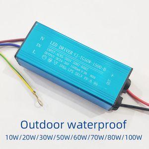 led driver power supply ballast AC85V-265V outdoor street lamp floodlight spotlight waterproof transformer 20W 30W 50W 70W 100W