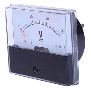 Multimeters DH-670 Accuracy DC 30V Analog Panel Meter Voltmeter