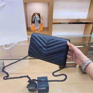 Genuine Leather Handbag WOC Women Fashion s Bags clutch Classic Ladies Diagonal Bag