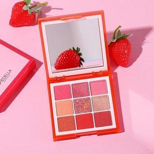 Eye Shadow 9 Color Eyeshadow Orange Blue Purple Gold Red Earth Palette Lasting Makeup Beauty Cosmetic TSLM1