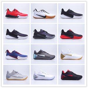 2021 Hava Yastık Savaş Basketbol Ayakkabı Erkek Mamba Fury Siyah Beyaz Kırmızı Yüksek Kaliteli Kbed 11 Em Düşük Moda Spor Sneakers