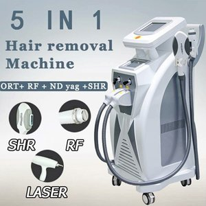 5 in 1 Multifunction OPT SHR IPL Hair ND YAG Laser Tattoo Removal Skin Rejuvenation Beauty Machine#013
