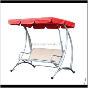 Tents And Shelters Outdoor Waterproof Canopy Replacement Awning Garden Courtyard Chair Dustproof Swing Top Cover Camping 0Abrh Gj5E9