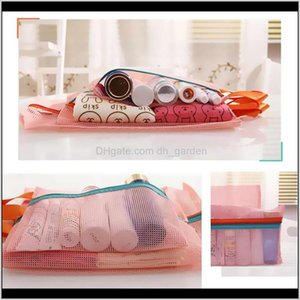 4Pcsset Storage Bags For Shoes Clothes Travel Lage Packing Mesh Pouch Organizer Shoe Travelling Cosmetics Bag Zvmed Kswlz
