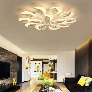 2021 LED Chandelier Modern Ceiling light chandeliers Lighting For Living Room Bedroom kitchen With Remote Control Lustre t Fixtures