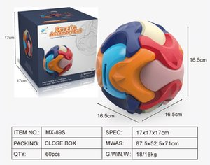 3D Puzzle Assembly Ball for Kids Money Bank Building Blocks funny Educational Toys 1-13 Teasers intelligence
