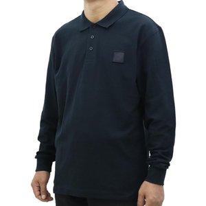 Новые мужские Polos с длинным рукавом рубашка весна и осень высококачественные мужчины женские футболки длинные рукава рубашки с длинным рукавом.