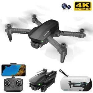Drones 2021 GD93 Mini Drone Profesional 4K 1080P HD Double Camera GPS WiFi Fpv Altitude Hold Black Foldable Quadcopter Toys