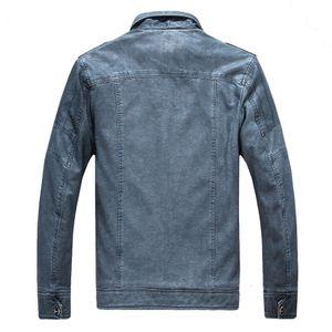 Winter Men's Leather Windbreaker Monclair Leather Oatvelvet Washed Jacket Man Nationalday For Men 8818 Eonxo