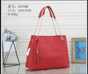 1-30LVLOUIS1VITTON women Shopping shoulder bags Handbag chain crossbody bags lady leather messenger bag wallet Female