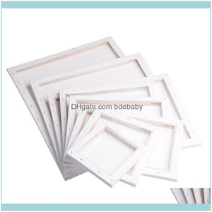Frames And Mouldings Arts, Crafts Gifts Home & Gardenwhite Blank Square Artist Canvas Wooden Board Frame For Primed Oil Acrylic Paint 20X20C