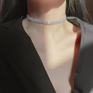 Chains Necklace Fashion Clavicle Chain Choker Beautiful Jewelry Accessories For Women Girls BN