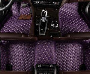 for Volkswagen All Models passat b5 b6 polo golf tiguan jetta touran touareg floor mats for cars
