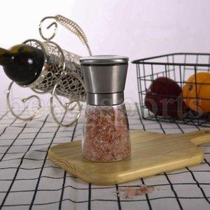 6.5 * 13.5cm manual pimenta moinhos moinhos 160ml de aço inoxidável sal muller home molho de especiarias pimenta ferramentas de cozinha cyz3166