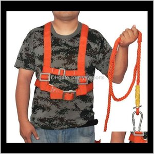 Harnesses Aerial Safety Harness Work Rope Protective Fivepoint Fall Protection Adjustable Highaltitude Seat Belt Climbing Uh8Yd Twlkw