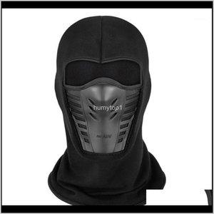 Caps Masks Protective Engrenagem Esportes Ao Ar Livre Inverno Inverno Ciclismo Ao Ar Livre Fleece Capa Completa Face Windproof Ski Máscara Snowboard Hood Antidu