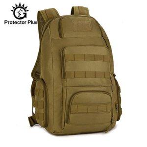 40L Men's Backpack Waterproof Nylon Man Women Military Rucksack Travel 14 inch Laptop Bag Molle Army Hike Bags Sport XA41D Y200920