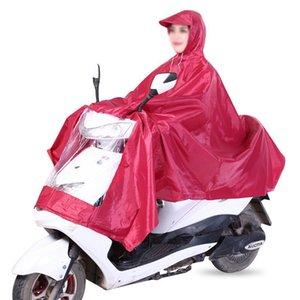 EVA electric bicycle Raincoat Bicycle Waterproof Hood Poncho Rainwear Hooded For Motorcycle Bike Men Women Rain Cover