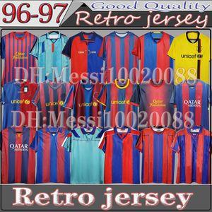 92 95 1996 1997 Retro Soccer jersey 06 07 11 12 Guardiola Home Away Classic Thailand Quaersey Stoichkov 2006 RONALDINHO 98 99 RIVALDO Football Shirt