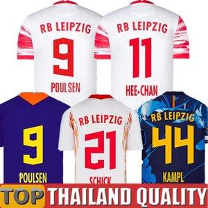 21 22 Soccer Jerseys FORSBERG WERNER Camiseta HEE-CHAN Maillot HALSTENBERG SABITZER POULSEN Sørloth 2021 2022 Football Shirts Kits CUNHA Uniform