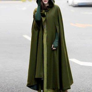 Women Open Front Cardigan Jacket Shawl Coat Plus SizeCoat Green Gray Black Cape Cloak Poncho Women's Trench Coats