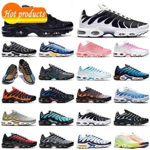 {Zapatos} düşük fiyat tn artı koşu ayakkabıları erkekler kadınlar hiper mavi gri turuncu açgözlü tns bayan erkek eğitmenler açık spor ayakkabı nefes