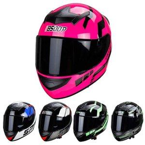 Motorcycle Helmets Helmet Off-road Horn Full Face Motocross Motorbike BSD-A0304 Protective Gears ABS Plastic For Women Men