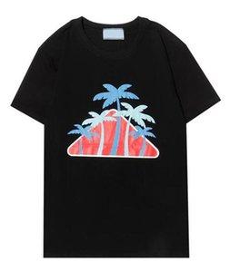 2021 Tee Brand Дизайн рубашки Летняя улица Носить Европу Мода Мужчины Высококачественные хлопчатобумажные футболки Повседневная короткая рукава M-XXL футболки # 041