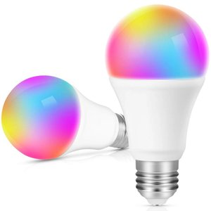 Dimmable LED bulbs 3W 5W 10W B22 E27 high brightness 980LM white RGB bulb 220 270 angle with remote control