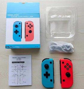 Wireless Bluetooth Pro Gamepad Controller Joystick per interruttore Game Handle Joy-con Desk Blue Red GamePod con scatola al minuto DHL
