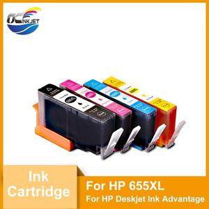 Ink Cartridges OCINKJET Third Party For 655XL Cartridge With Chip Compatible Deskjet Advantage 3525 4615 4625 5525 6525