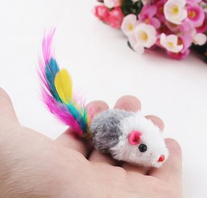 Pet Supplies Home & Garden Drop Delivery 2021 5Pcs Lot Funny False Rat For Kitten Colorful Plush Mini Mouse Toys Pets Cat Playing Toy Kcq4N