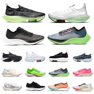 Nike ZoomX VaporFly Alphafly NEXT% Karpuz Lime Blast Oreo Erkek Koşu ayakkabıları Ekiden Valerian Lacivert Şerit Yelken siyah beyaz Nefes erkekler kadınlar eğitmenler Spor ayakkabı