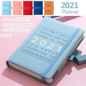 Planning Notebook A5 320 Pages Yearly Monthly Planner Timetable Long Time Plan Agendas Office Faux Leather Notepads