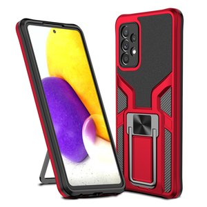 Rugged Armor Phone Cases TPU+PC+Metal 3 In 1 Mobile Phones Case Cover For Samsung S21 A32 A52 A72 iPhone 12 LG Google Huawei P50 Motorola Cellphone