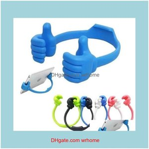 Other Supplies Office School Business & Industrialok Thumbs Up Holder Creative Mobile Phone Aessories Suitable Desktop Lazy Stand Drop Deliv